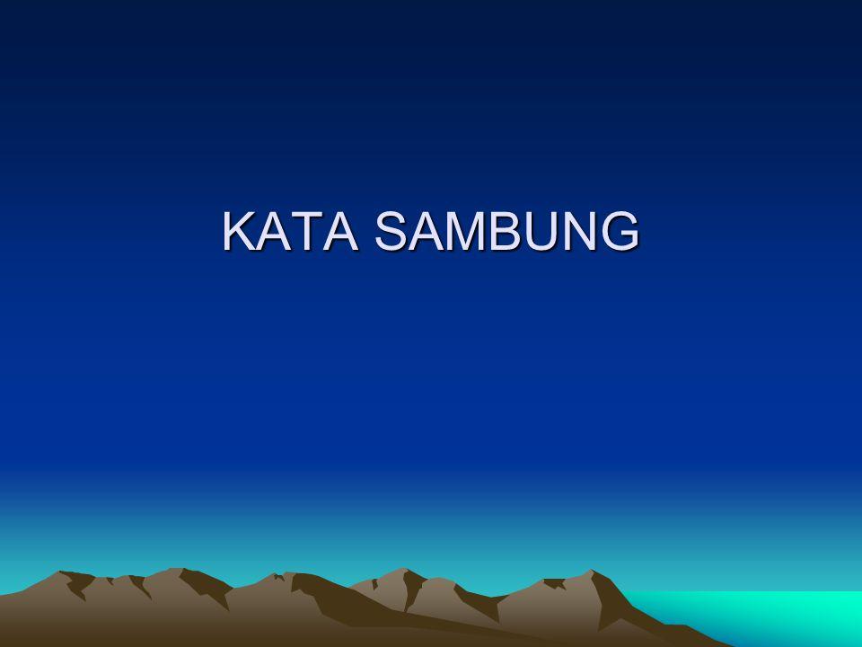 KATA SAMBUNG