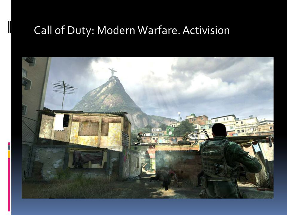 Call of Duty: Modern Warfare. Activision