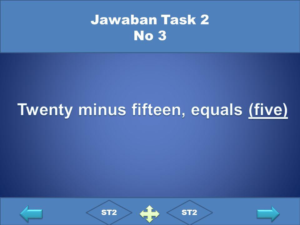 Jawaban Task 2 No 3 ST2