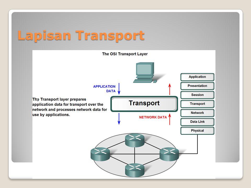 Proses yang ditentukan oleh protokol UDP untuk reassemble (merakit kembali) PDU di perangkat tujuan