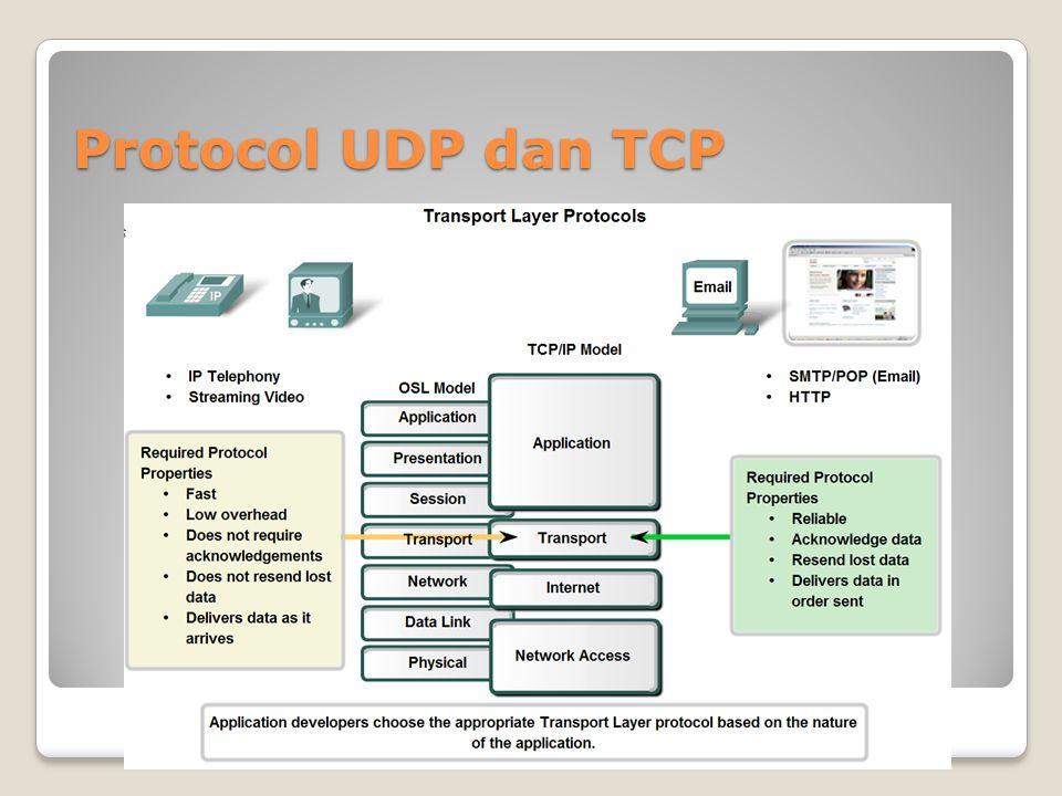 Protocol TCP dan UDP