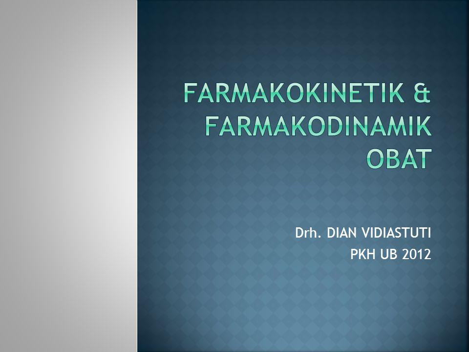 FARMAKODINAMIKFARMAKOKINETIK