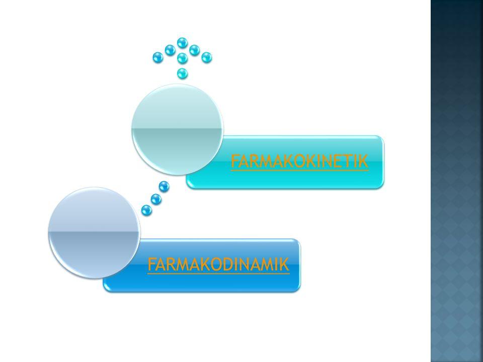  Protein mrp res obt yg paling penting  Ikatan obt-res : ion, hidrogen, hidrofobik, van der Walls, kovalen  Reseptor obat  makromolekul seluler tempat obt terikat u/ menimbulkan efeknya  Reseptor Fisiologis  protein seluler yg scr normal berfungsi sbg reseptor bagi ligand endogen : hormon, neurotransmitter, autakoid (histamin, serotonin)