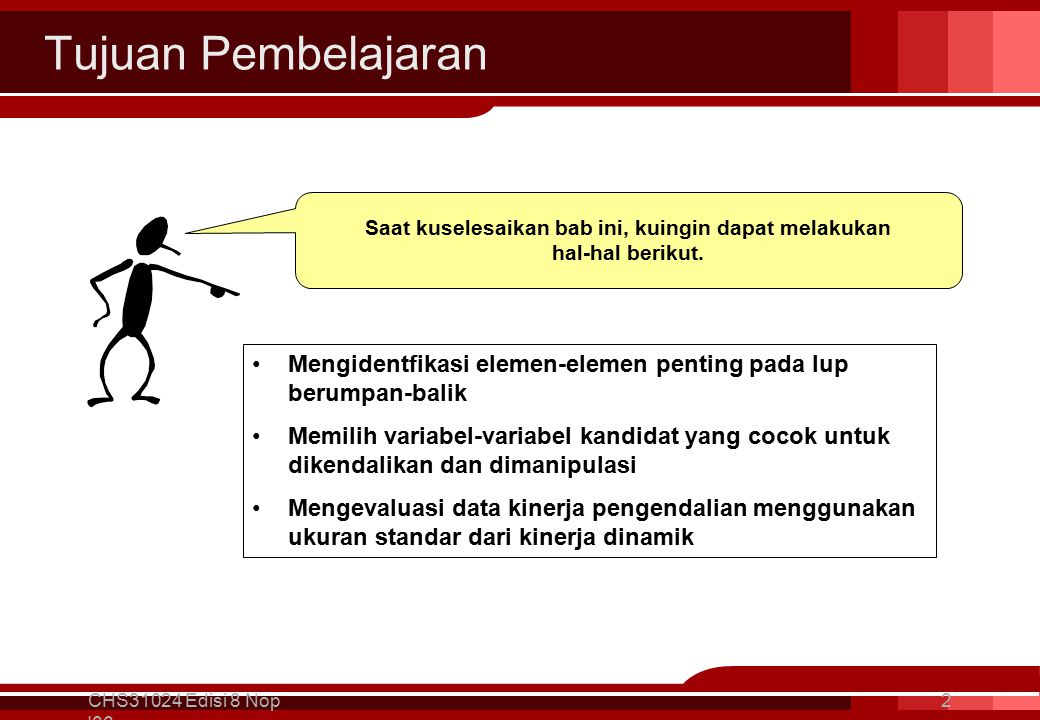 Lup Berumpan-balik – Workshop 2 CHS31024 Edisi 8 Nop 06 43 Recommend the correct failure position (open or closed) for each of the circled control valves.