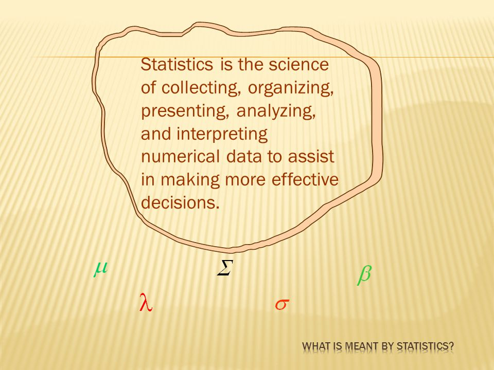 Statistical techniques are used extensively by marketing, accounting, quality control, consumers, professional sports people, hospital administrators, educators, politicians, physicians, and many others.