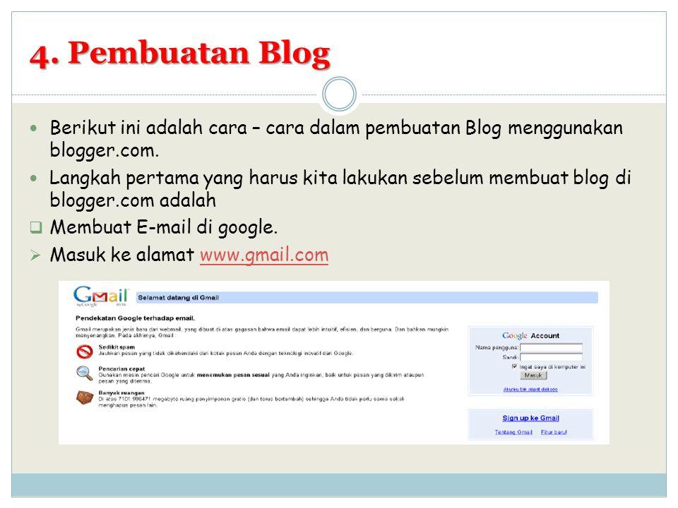  Pilih Signup ke Gmail untuk mendaftar, kemudian isi formulir dengan lengkap
