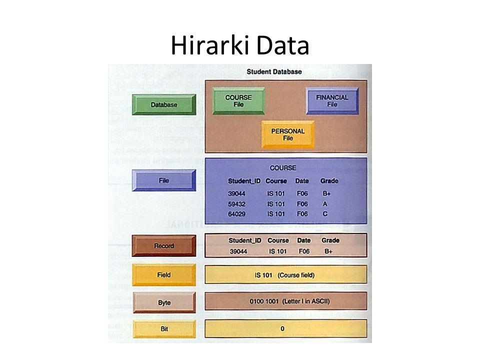Hirarki Data