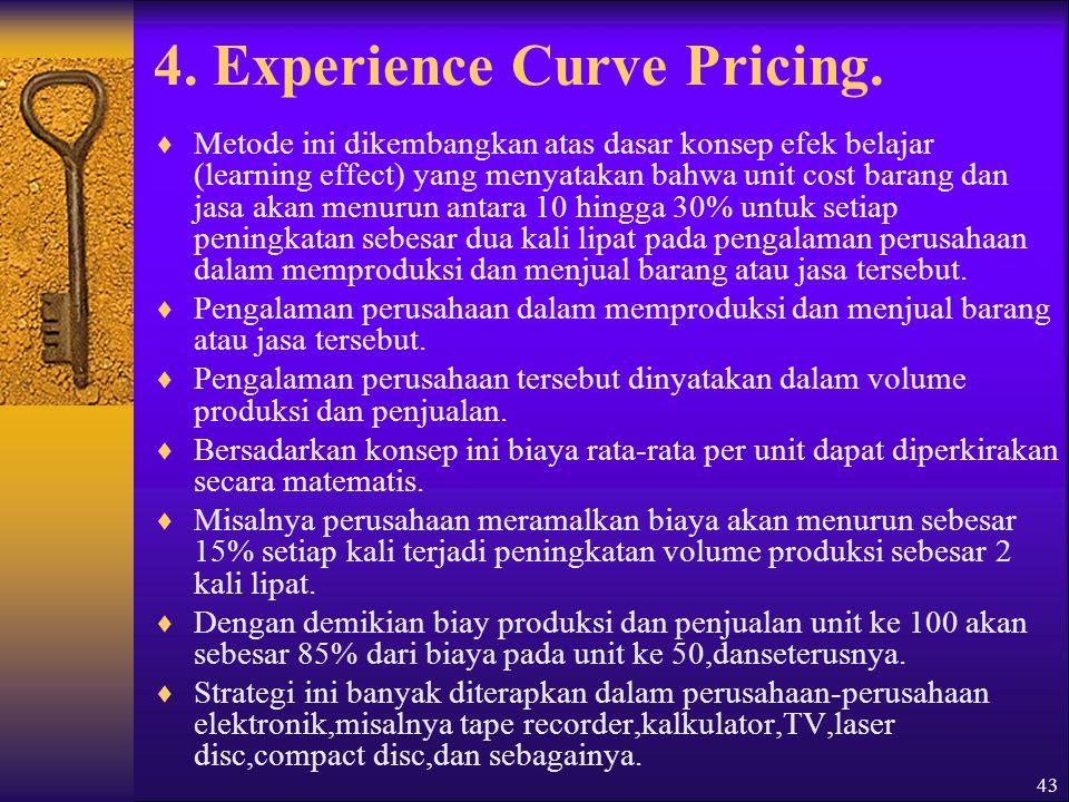 44 Metode Penetapan Harga Berbasis laba  Metode ini berusaha menyeimbangkan pendapatan dan biaya dalam penetapan harganya.