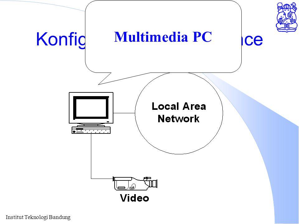 Institut Teknologi Bandung Konfigurasi TeleConference Multimedia PC