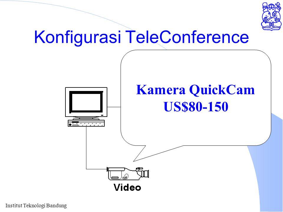 Institut Teknologi Bandung Konfigurasi TeleConference Kamera QuickCam US$80-150