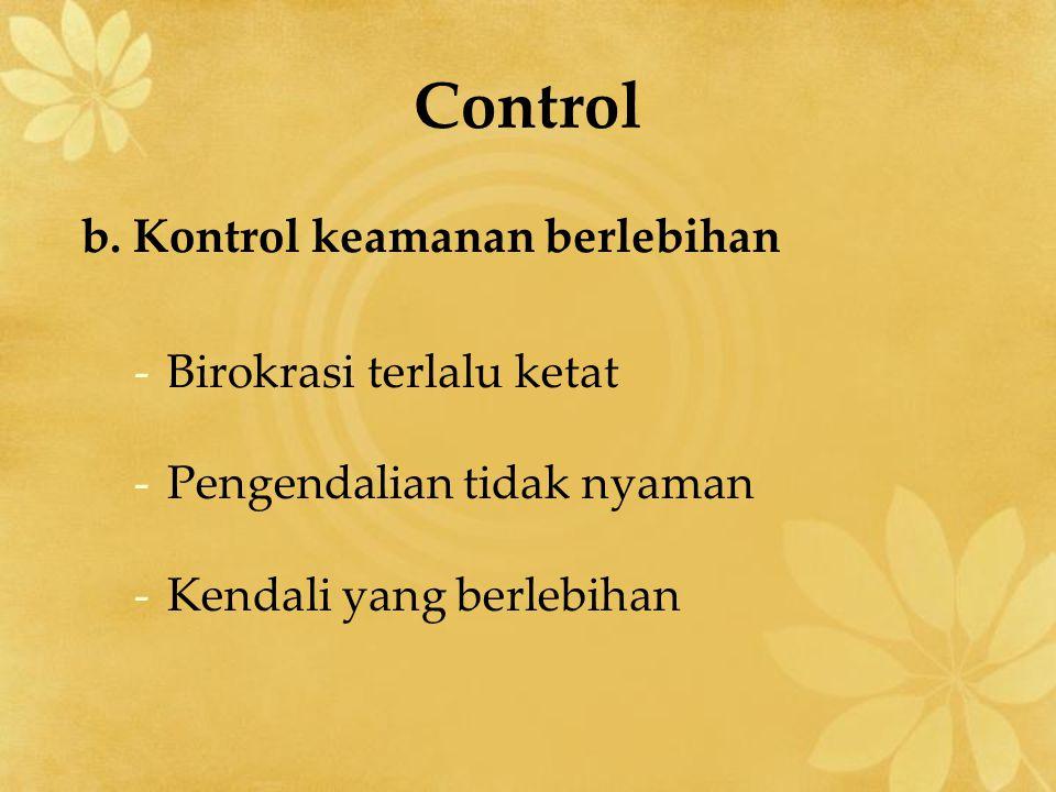 Control b.