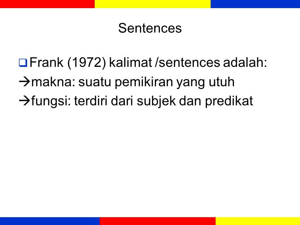 KEGIATAN BELAJAR 2 Sentences