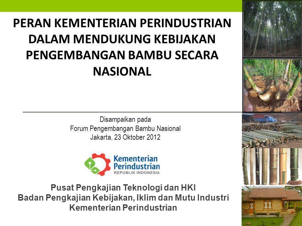 Akselerasi industrialisasi 2012-2014 berfokus pada 15 subsektor industri, yang dikelompokkan dalam tiga kelompok besar, yaitu: I.