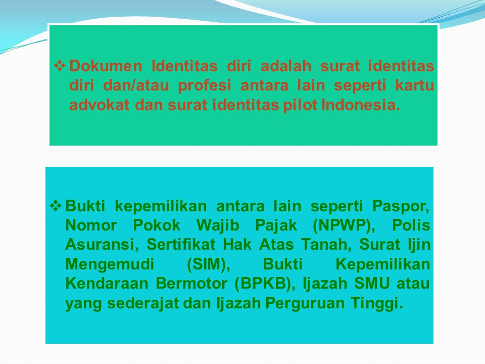 III. NOMOR INDUK KEPENDUDUKAN (Pasal 13 UU 23 TH 2006)  Setiap penduduk wajib memiliki Nomor Induk Kependudukan (NIK).  NIK diberikan oleh Pemerinta