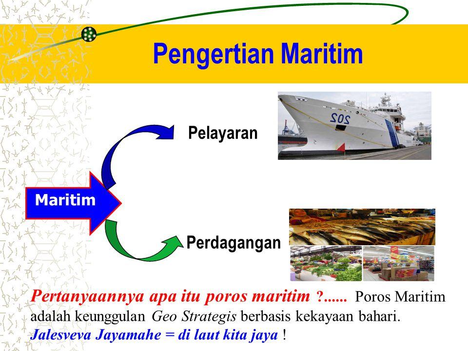 Pengertian Maritim Maritim Pelayaran Perdagangan Pertanyaannya apa itu poros maritim ?......