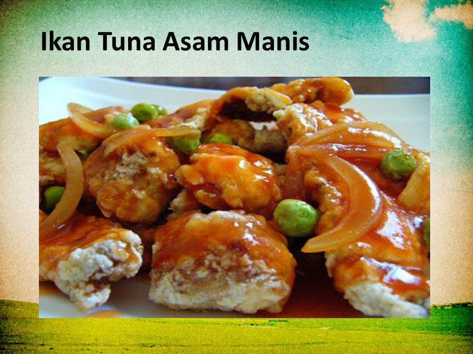 Ikan Tuna Asam Manis