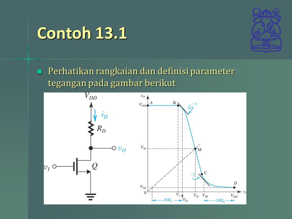 Contoh 13.1 Perhatikan rangkaian dan definisi parameter tegangan pada gambar berikut Perhatikan rangkaian dan definisi parameter tegangan pada gambar berikut