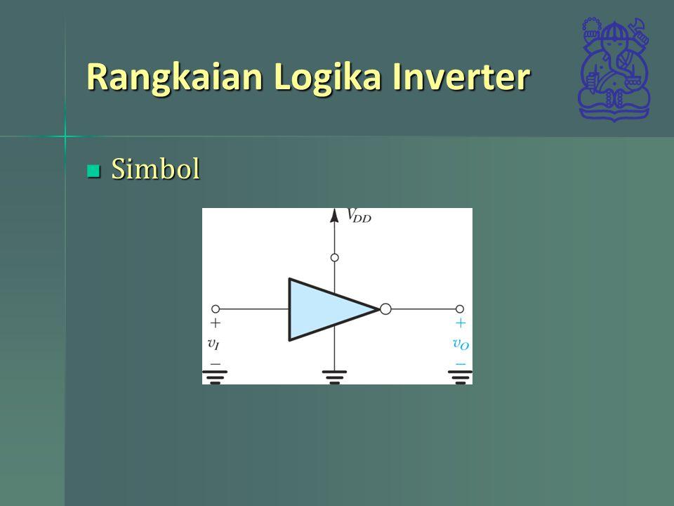 Rangkaian Logika Inverter Simbol Simbol