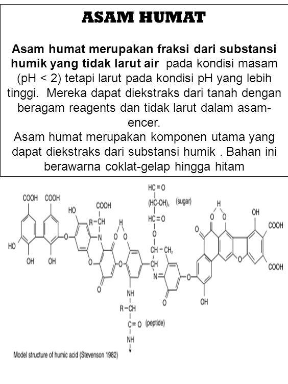 Apa manfaat fisik dari aplikasi asam humat Acid .Tanah lebih mudah diolah.