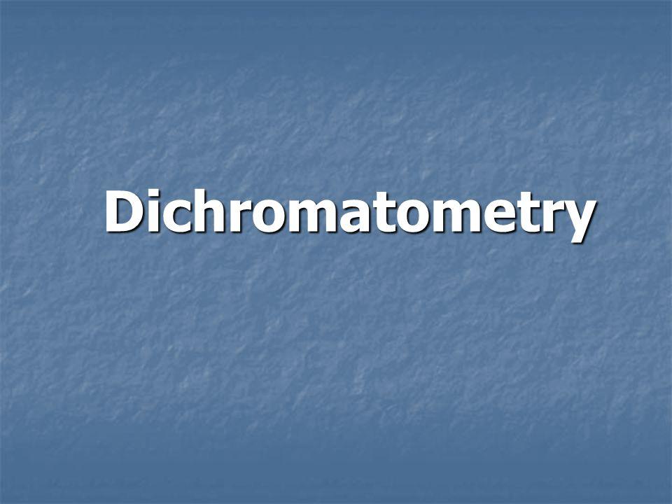 Dichromatometry