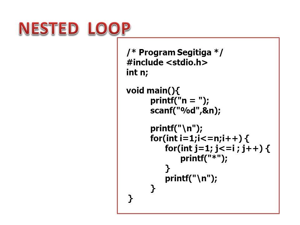 1.Buatlah program untuk menampilkan bilangan terkecil dari n bilangan yang dimasukkan oleh user.