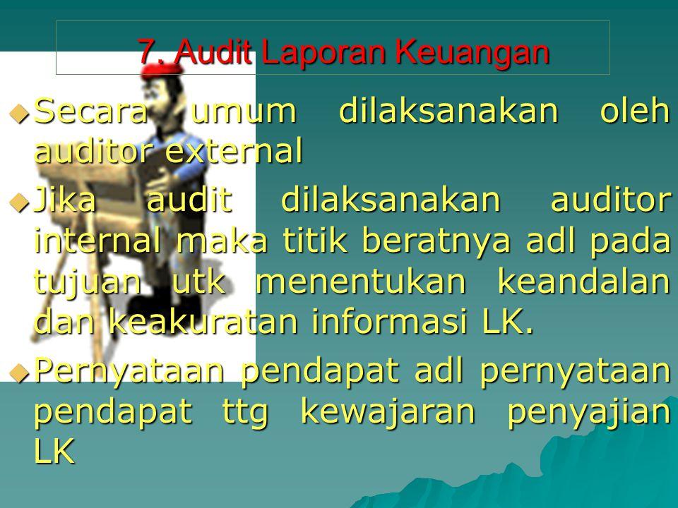 7.Audit Laporan Keuangan 7.