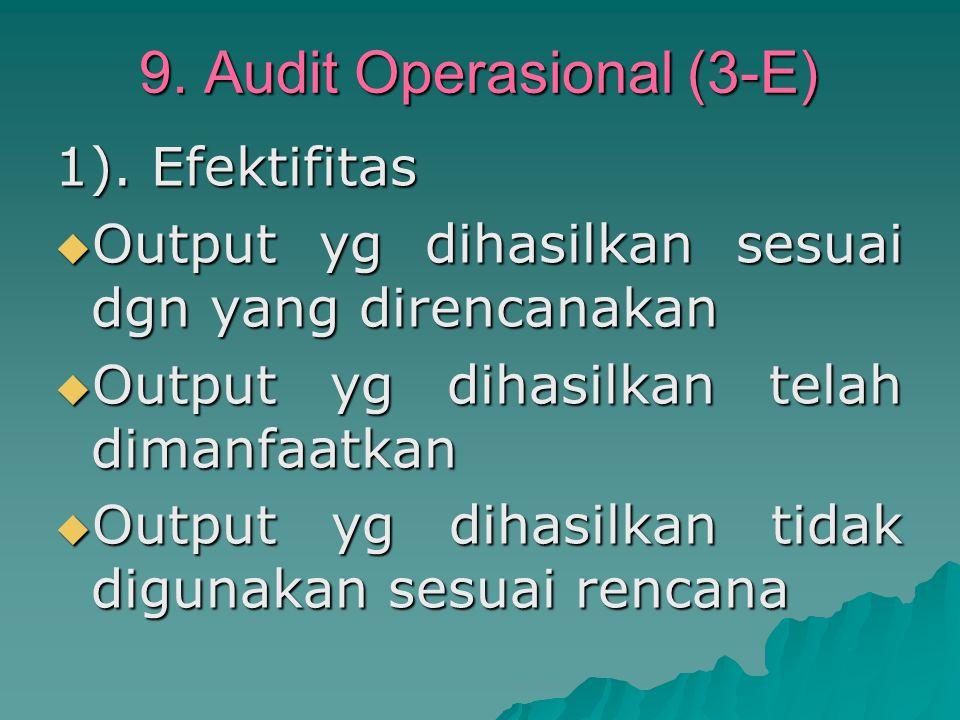 9.Audit Operasional (3-E) 1).