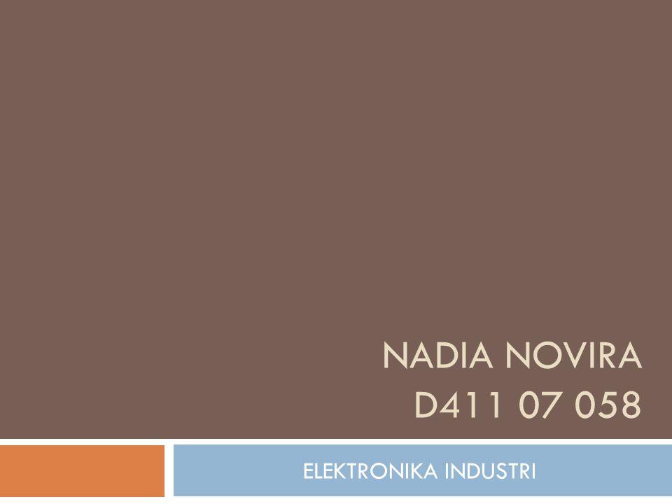 NADIA NOVIRA D411 07 058 ELEKTRONIKA INDUSTRI