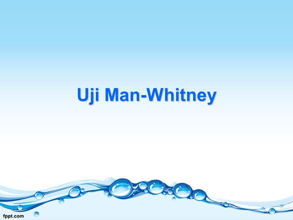 Uji Man-Whitney
