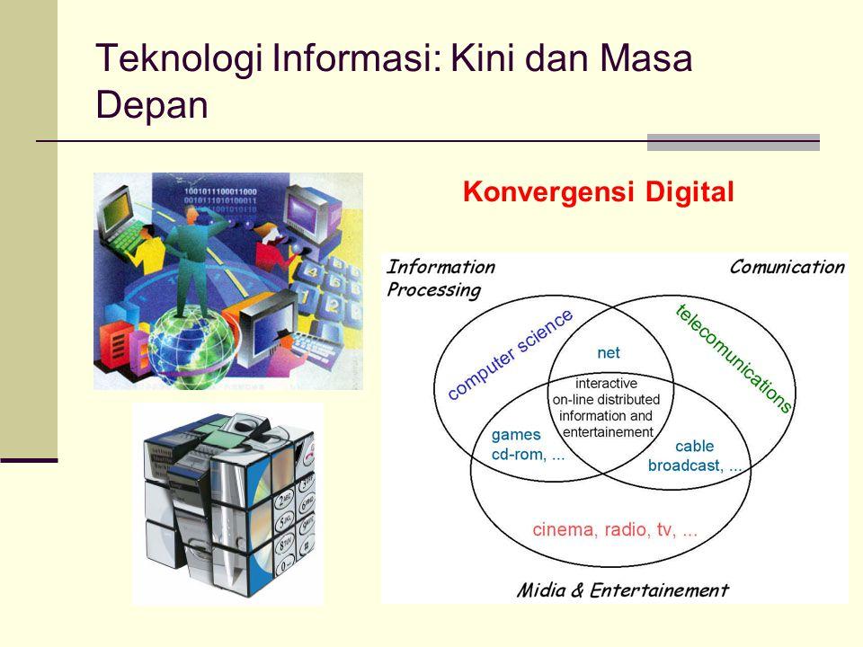 Teknologi Informasi Kini Komputerkah (karena punya OS dan aplikasi) .