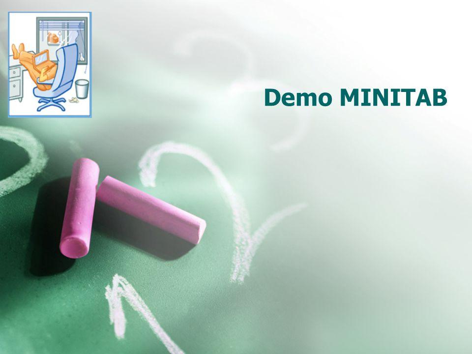 Demo MINITAB