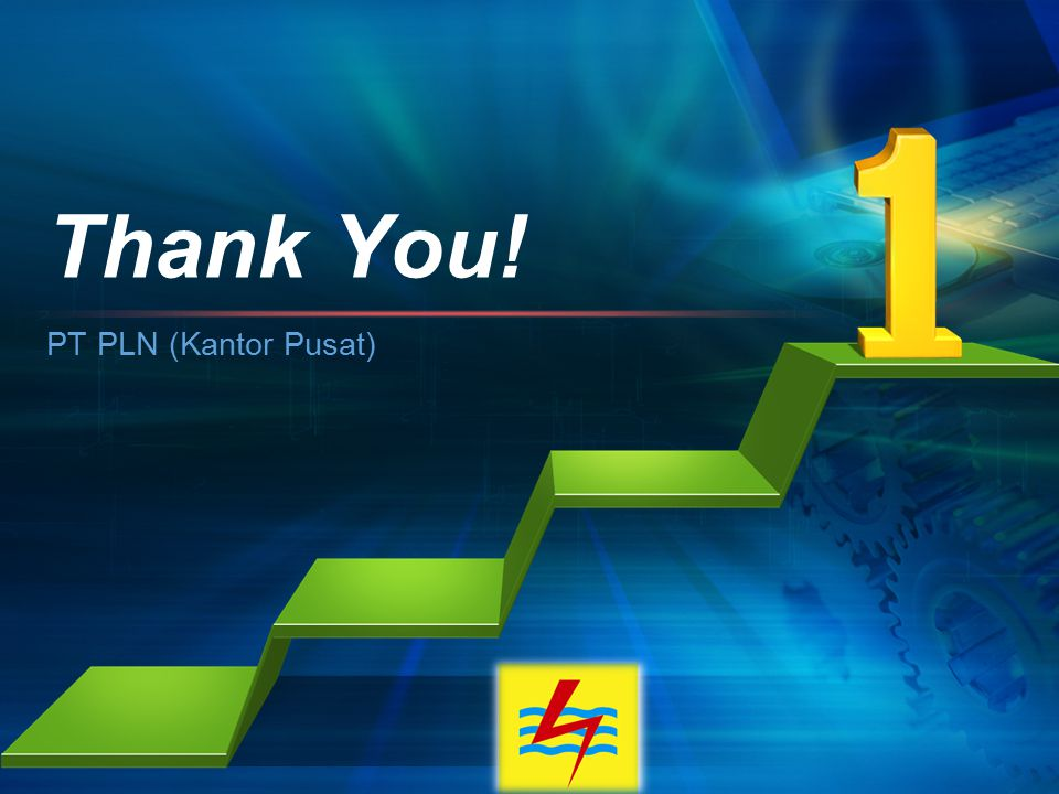 L/O/G/O PT PLN (Kantor Pusat) Thank You!