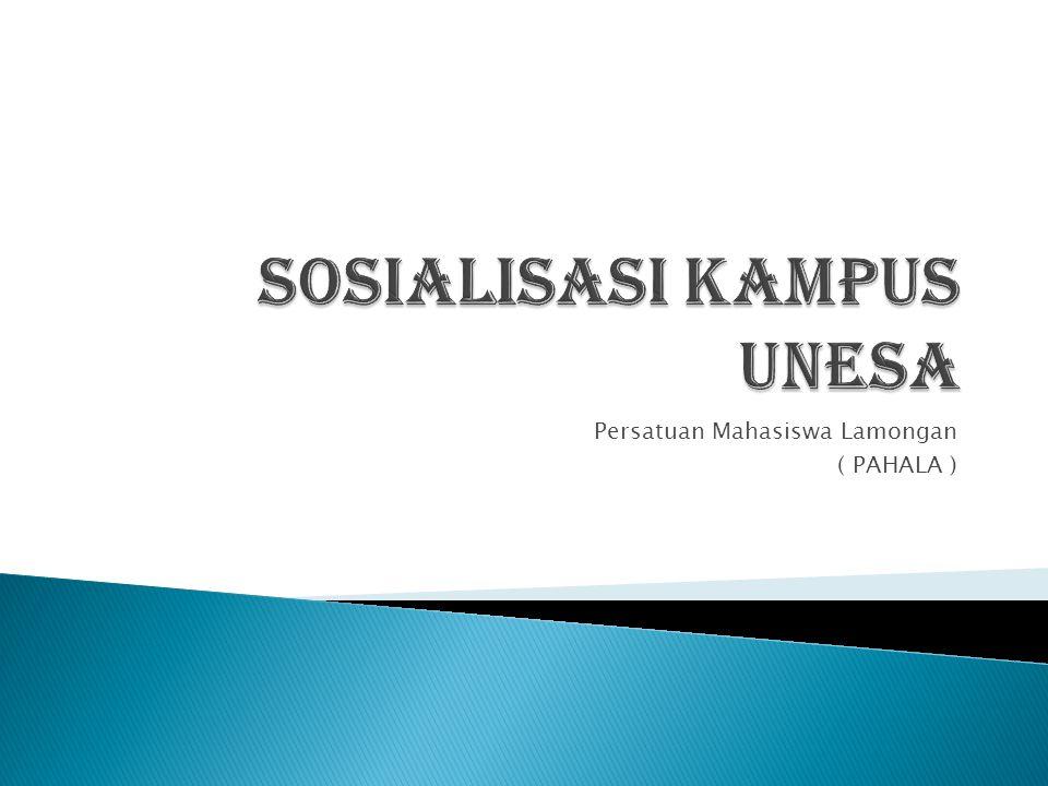 Persatuan Mahasiswa Lamongan ( PAHALA )