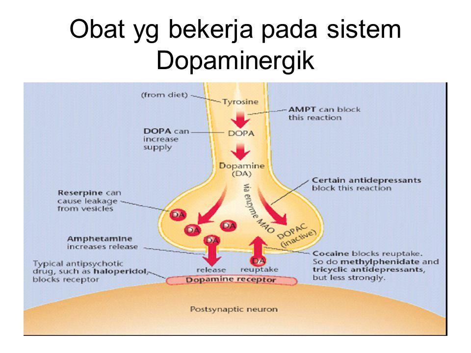 Obat yg bekerja pada sistem Dopaminergik