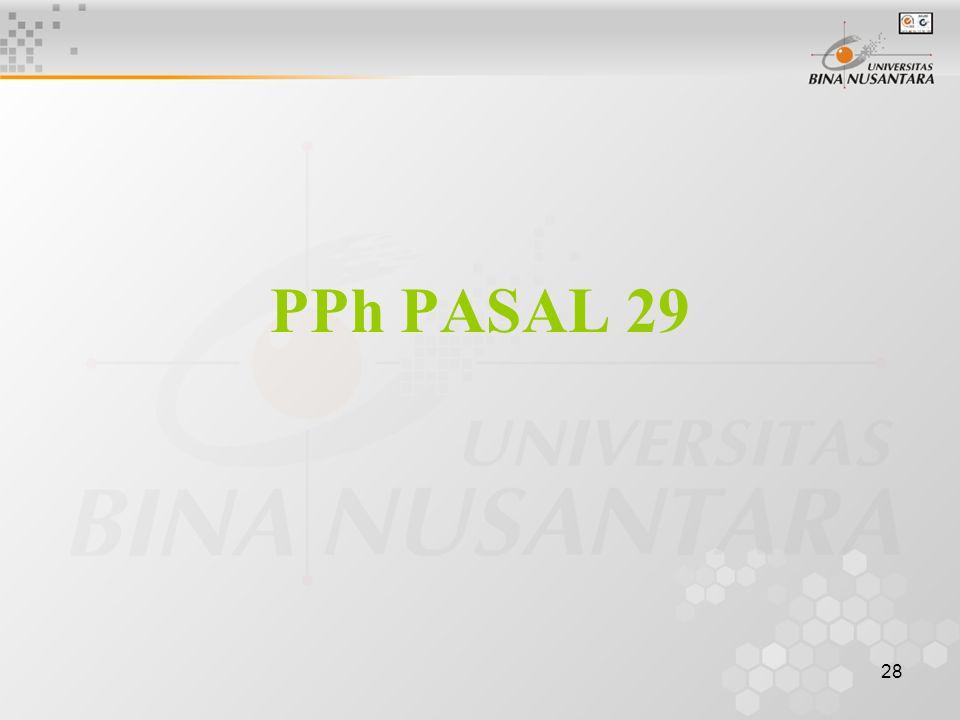 28 PPh PASAL 29