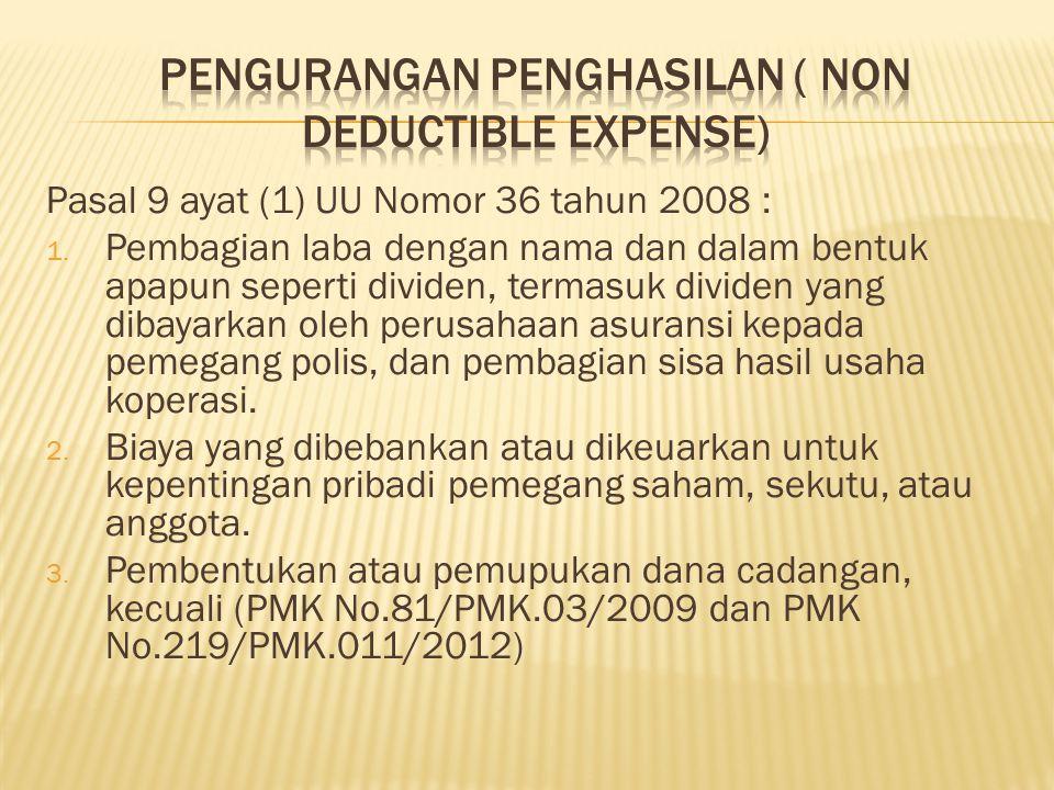 Menghitung PPH yang terutang atas penghasilan yang diperoleh Wajib Pajak yang bersangkutan tercantum pada Undang-Undang PPh Pasal 21, PPh Pasal 23, PPh Pasal 4(2).