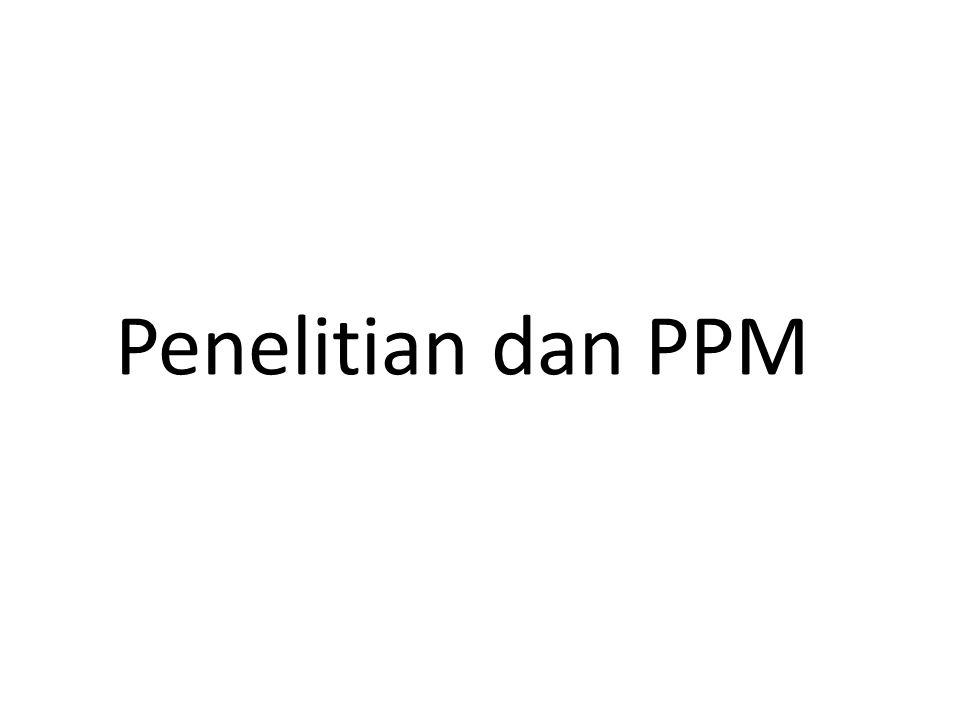 Penelitian dan PPM