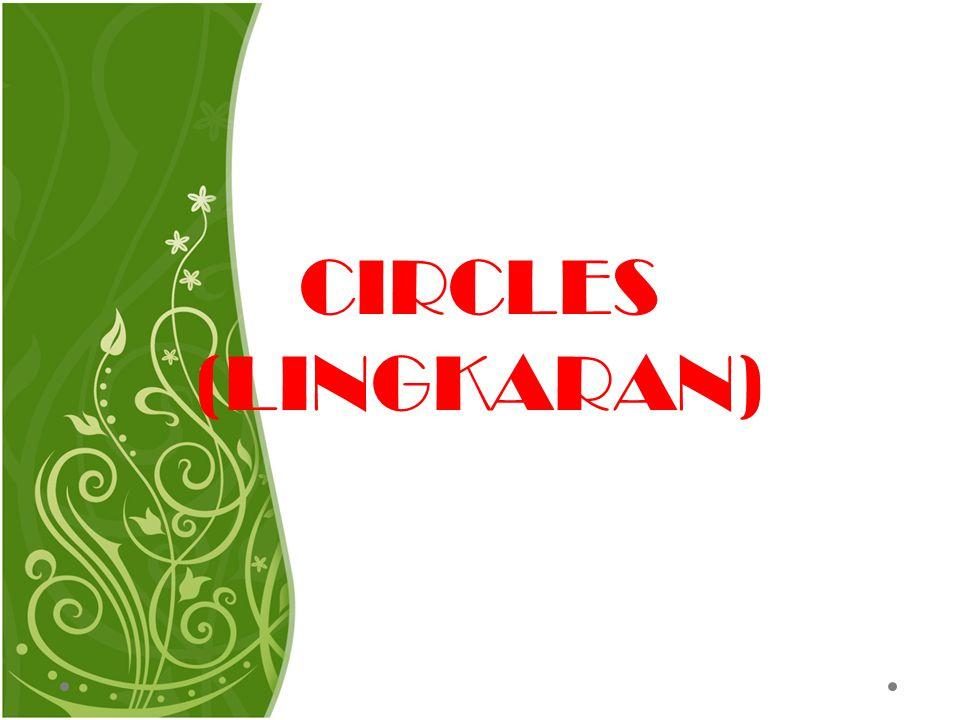 CIRCLES (LINGKARAN)