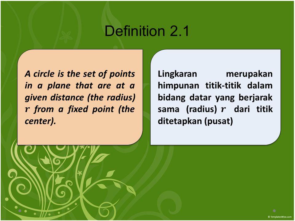 Definition 2.1