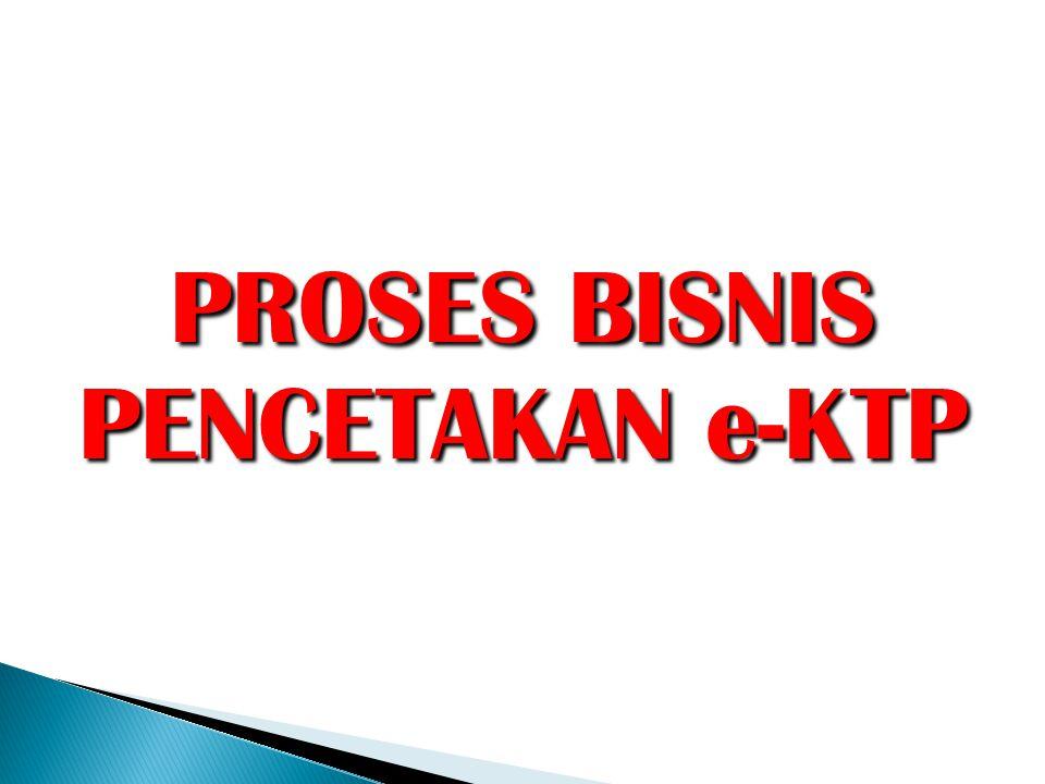  Pastikan server e-KTP terkoneksi dengan Data Center dan Server SIAK Pelayanan.