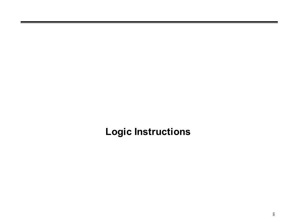 9 Example: Compare Instructions °Contoh instruksi yang mempengaruhi status register °Instruksi: cp (singkatan compare , membandingkan dengan dua argumen) cp Rd, Rr ; operasi compare Rd dan Rr Evaluasi instruksi sebenarnya: Rd – Rr Hasil ini akan men-set flag bit: Z (zero) pada status register, jika evaluasi subtraction ini adalah 0 atau (Rd == Rr) Note: side effect pada status register, tapi nilai Rd dan Rr tidak berubah.