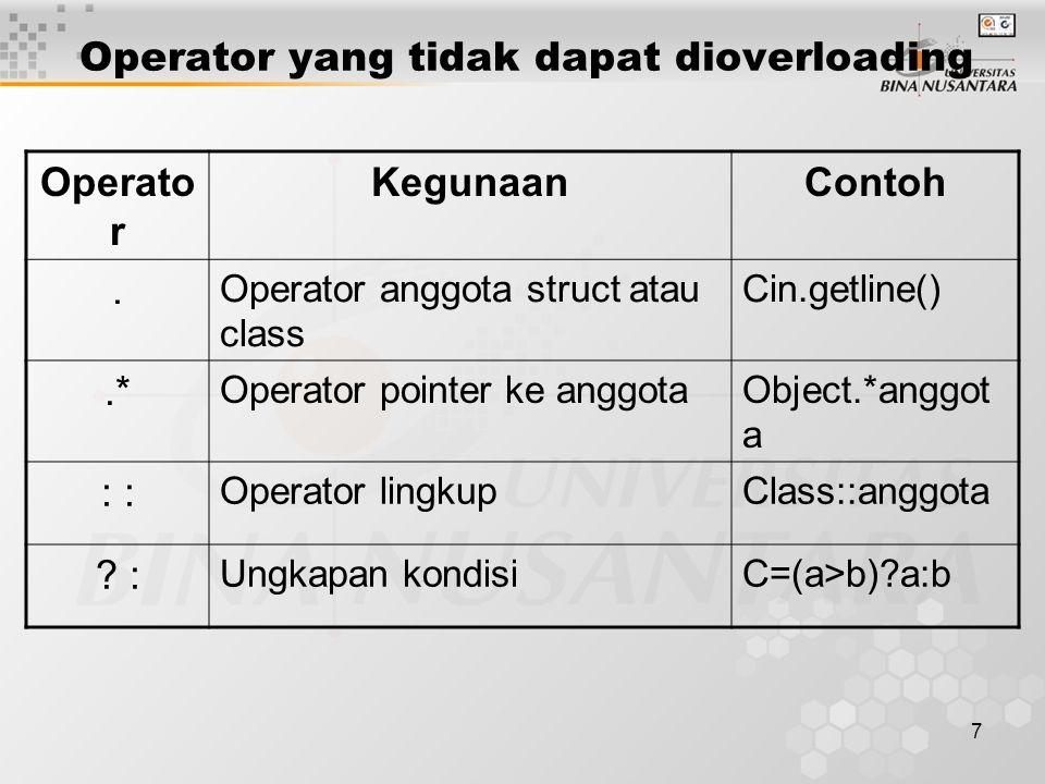 7 Operato r KegunaanContoh.
