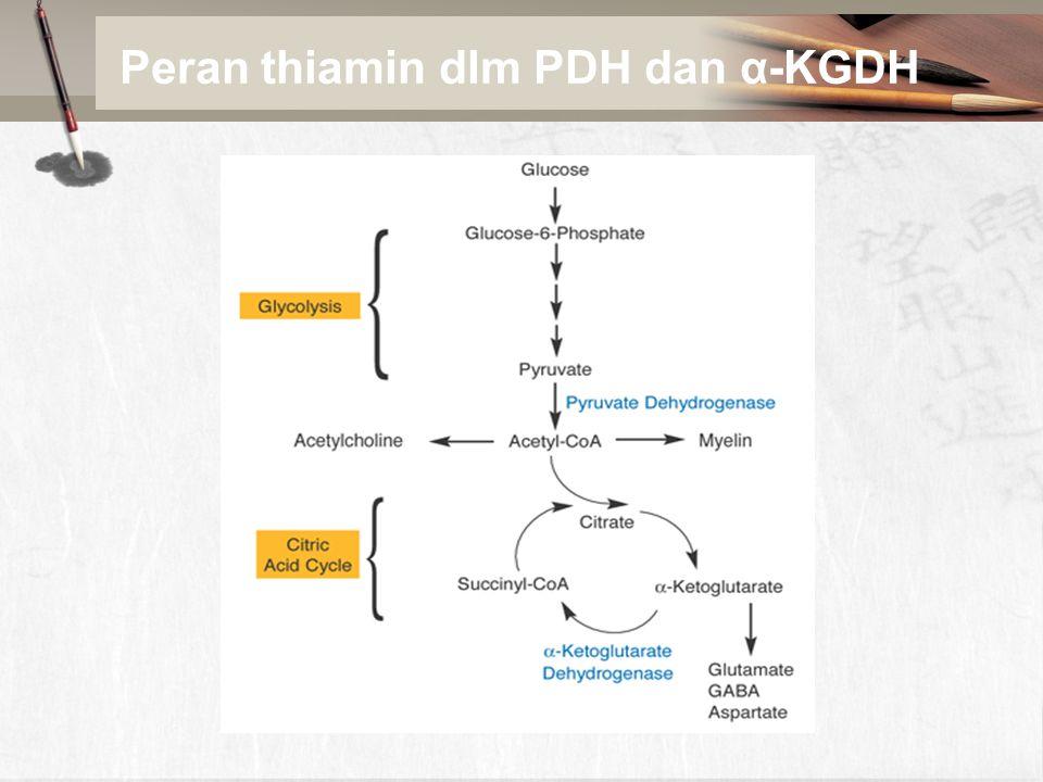 Produksi niasin Tryptophan Kynurenine Quinolinic acid Nicotinic acid mononucleotide (NMN) Nicotinamide adenine dinucleotide (NAD) Nicotinamide (niacin) Fe 2+ NADPH NADP Gambar 2.