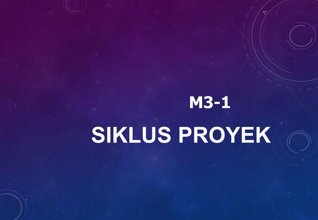 SIKLUS PROYEK M3-1