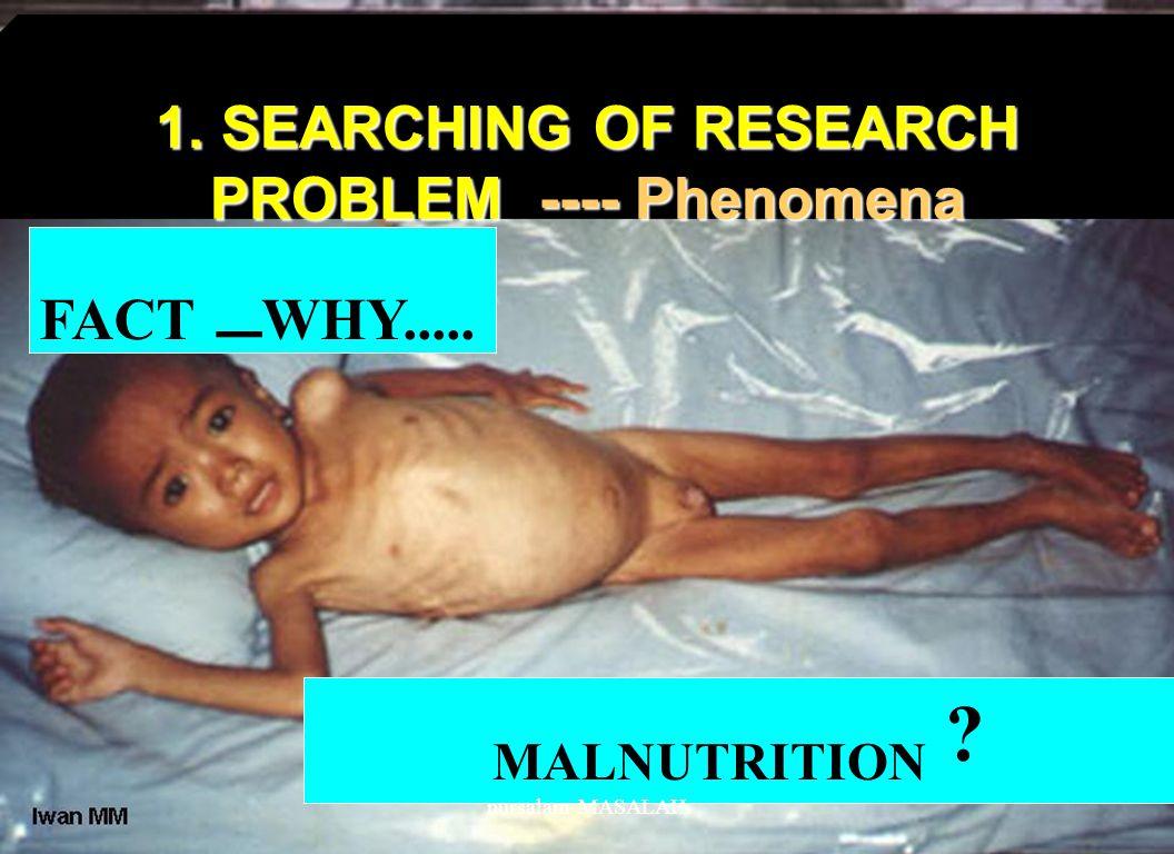 WHY..... TRADITIONAL MEDICINE nursalam-MASALAH