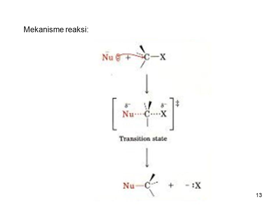 13 Mekanisme reaksi: