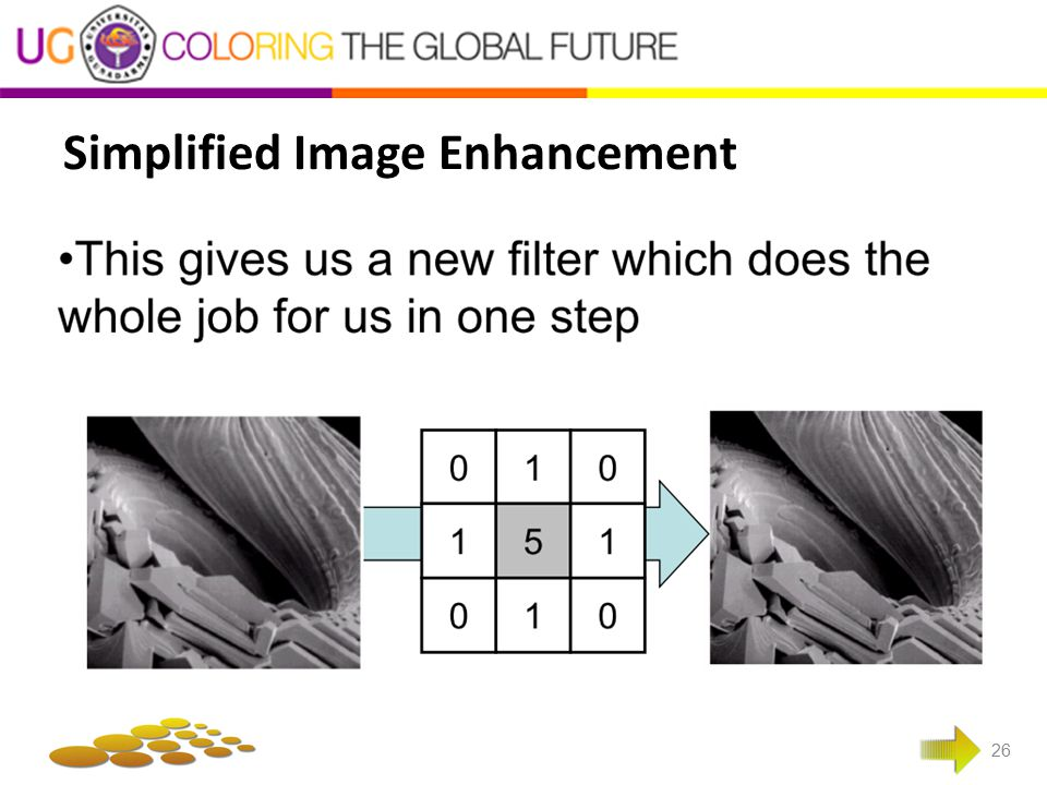 Simplified Image Enhancement 26