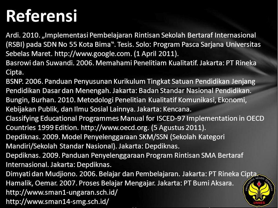 Referensi Ardi. 2010.