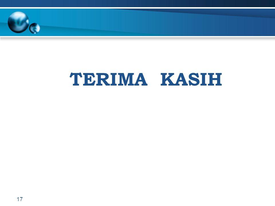 TERIMA KASIH 17