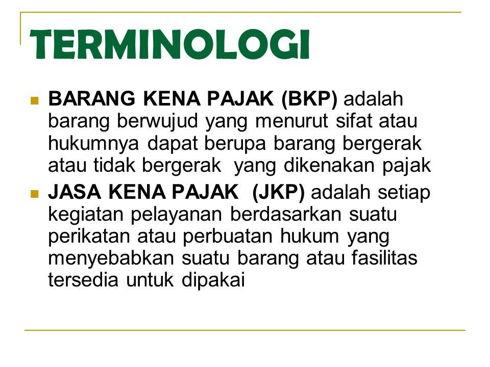 TARIF PPnBM Serendah rendahnya 10% dan setinggi tingginya 75% Atas ekspor BKP yang tergolong mewah dikenakan pajak dengan tarif 0% (Nol Persen) Kelompok tarif PPnBM ditetapkan oleh Peraturan Pemerintah.